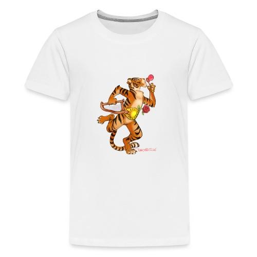 Tiger Vari - Teenager Premium T-Shirt