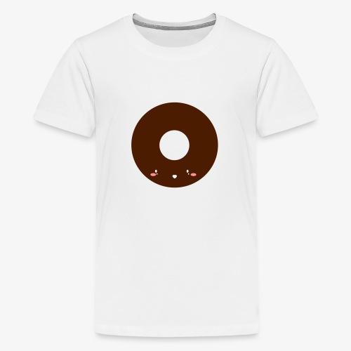 Happy Doughnut - Teenage Premium T-Shirt