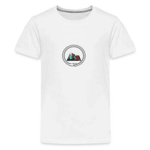 verdens beste ting - Premium T-skjorte for tenåringer