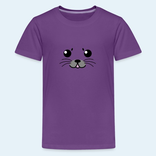 Foca bebé (Cachorros) - Camiseta premium adolescente