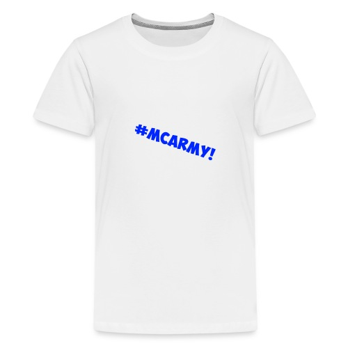 ABMC #MCARMY! - Teenage Premium T-Shirt