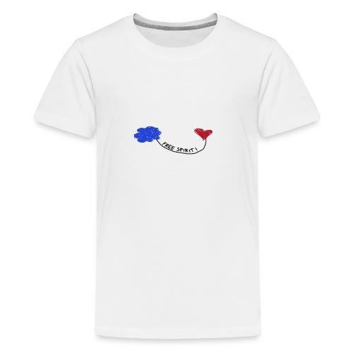 freespirit - Maglietta Premium per ragazzi
