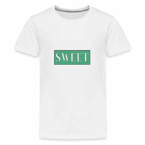 SWEET - Premium T-skjorte for tenåringer