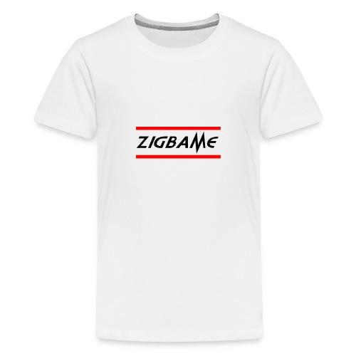 Zigbame - T-shirt Premium Ado