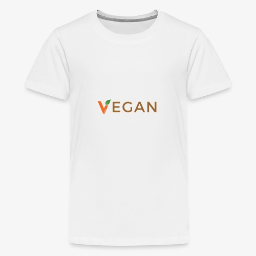vegan - Teenage Premium T-Shirt
