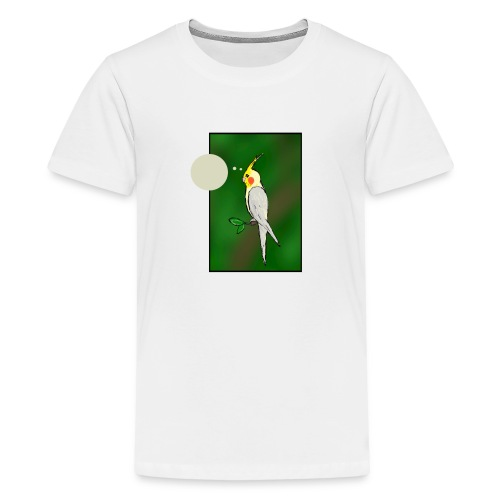 Cockatiel - Teenage Premium T-Shirt