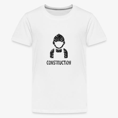 Construction - Camiseta premium adolescente