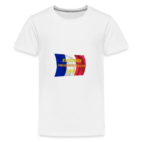 ELECTIONS 2017 - T-shirt Premium Ado