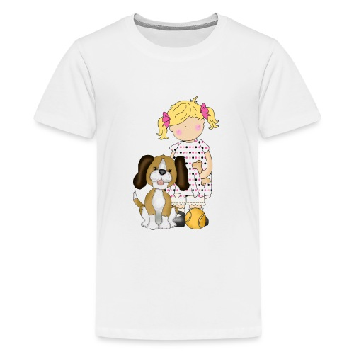 Thank you Dog Walker - Teenage Premium T-Shirt