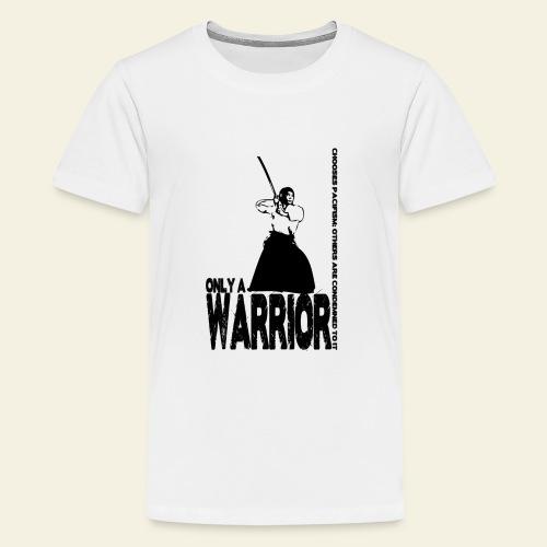 warrior - Teenager premium T-shirt