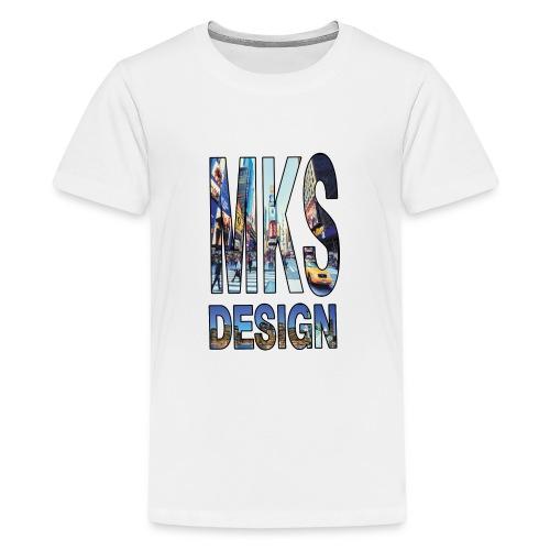 MERKOS modelo 3 - Camiseta premium adolescente