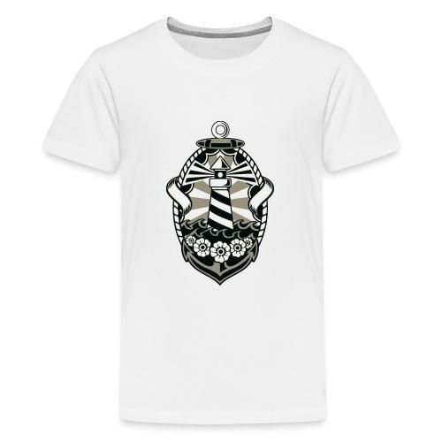 Lighthouse - Teenage Premium T-Shirt