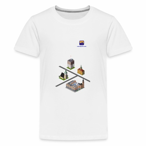 Raumagame mix for white / bale bg - Teenage Premium T-Shirt