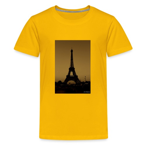 Paris - Teenage Premium T-Shirt