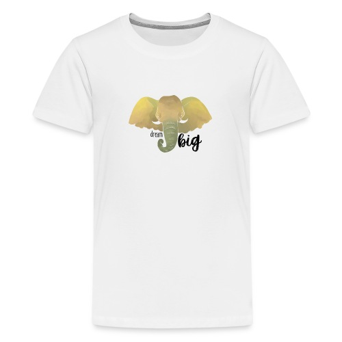 Elefant Dream Big - Teenager Premium T-Shirt