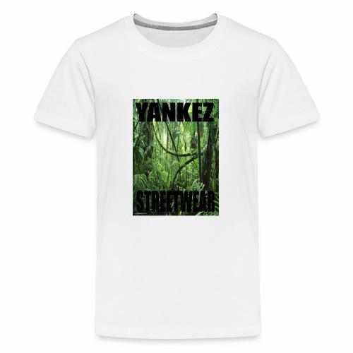 Yankez Backprint Jungle - Teenager Premium T-Shirt