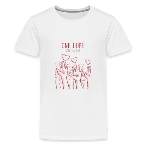 solo l'amore - Maglietta Premium per ragazzi