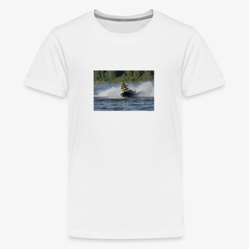 Larse Jetski - Teinien premium t-paita
