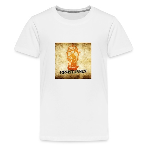 Resistansen Logo - Premium T-skjorte for tenåringer