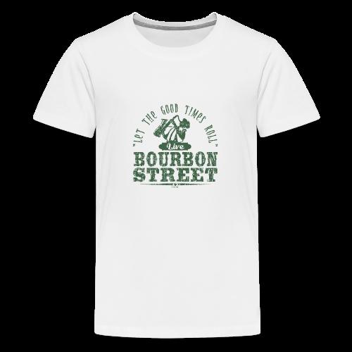 15-9 LIVE BOURBON STREET TEKSTILES, GIFT WEBSHOP - Teinien premium t-paita
