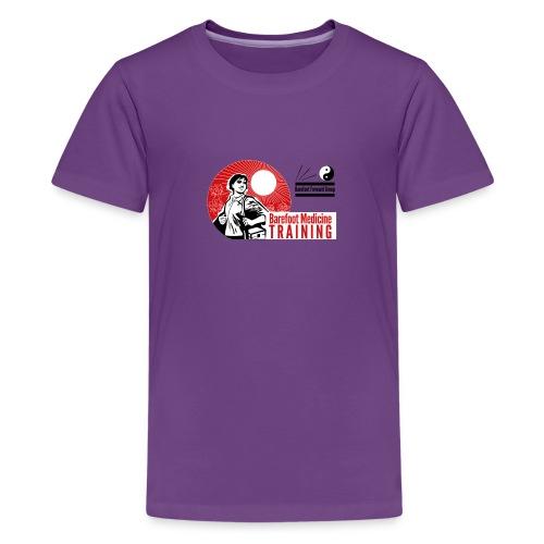 Barefoot Forward Group - Barefoot Medicine - Teenage Premium T-Shirt