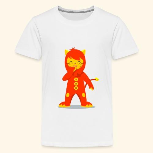 Nene León riendo - Camiseta premium adolescente
