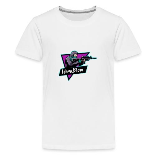 HeroBlom - Premium-T-shirt tonåring