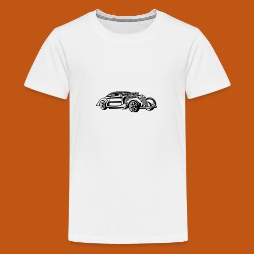 Hot Rod / Rad Rod 05_schwarz - Teenager Premium T-Shirt