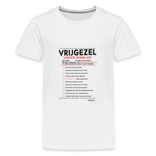 Laatste avond uit vrouw - Teenager Premium T-shirt