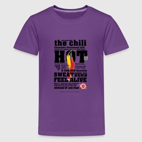 chili - Teenager premium T-shirt
