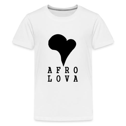 Afro Lova Original - T-shirt Premium Ado