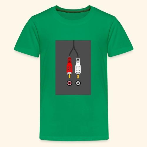 rca cable1 - Maglietta Premium per ragazzi