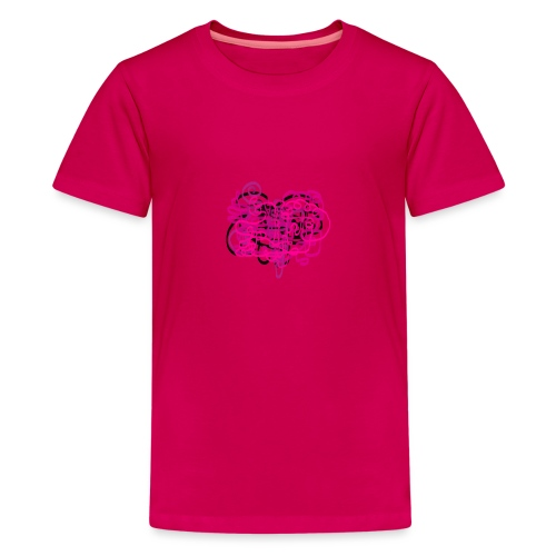 delicious pink - Teenage Premium T-Shirt