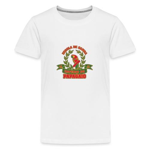 Papagaio logo - Teinien premium t-paita