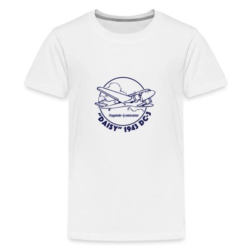 Daisy Clouds 1 - Premium-T-shirt tonåring