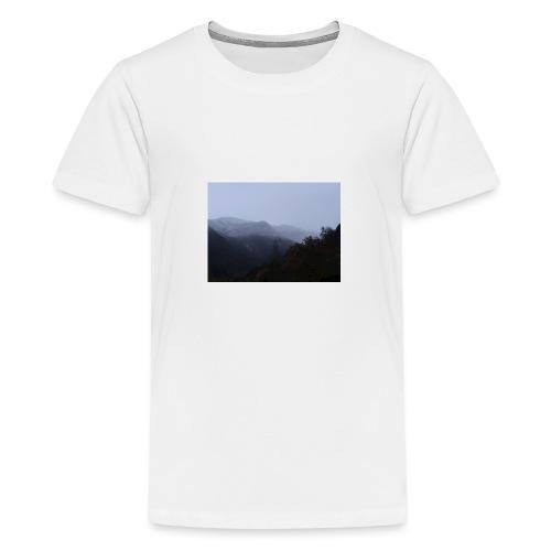 Collina con neve - Maglietta Premium per ragazzi
