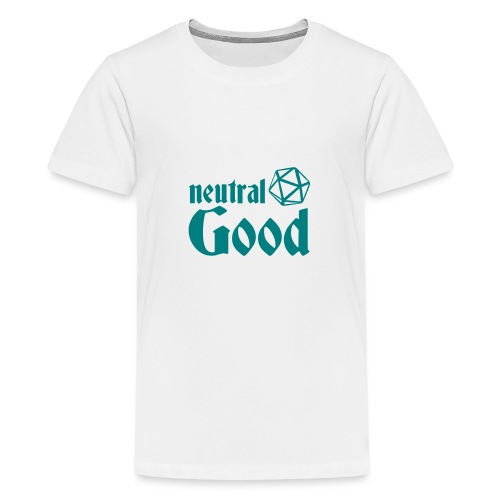 neutral good - Teenage Premium T-Shirt
