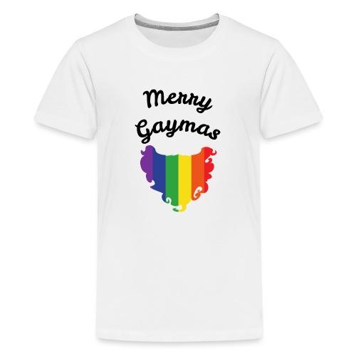 Merry Gaymas | Weihnachten | LGBT | Geschenkidee - Teenager Premium T-Shirt