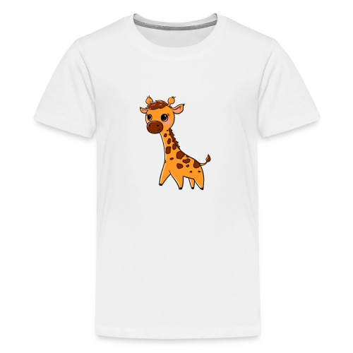 Mini Giraffe - Teenage Premium T-Shirt