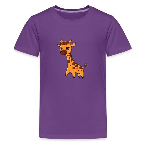 Mini Giraffe - Teenage Premium T-Shirt