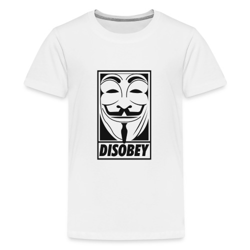 Anonymous disobey - T-shirt Premium Ado