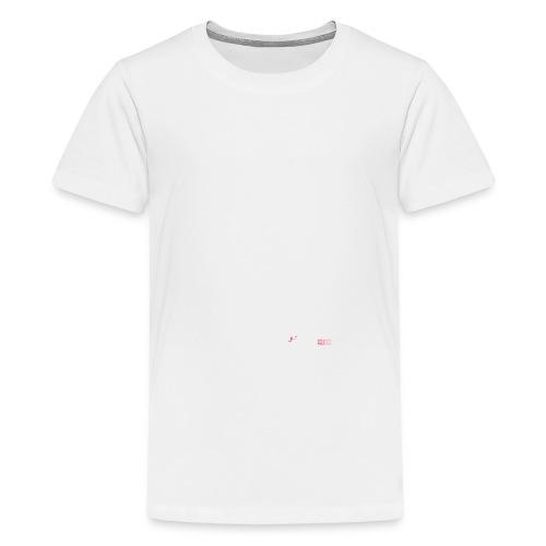 allyouneedblanco-png - Camiseta premium adolescente