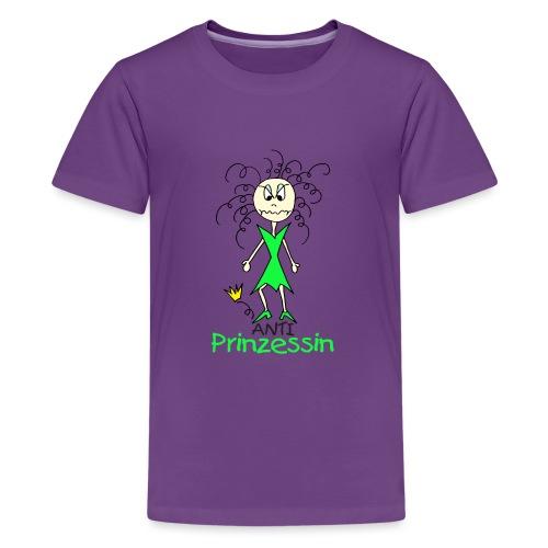 Anti Prinzessin - Teenager Premium T-Shirt