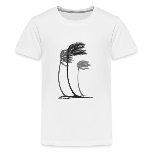 Palms in the wind - Teenager Premium T-Shirt