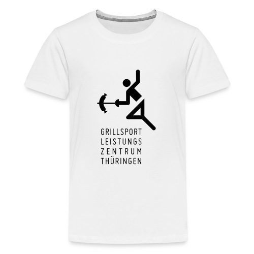Grillsport Leistungszentrum - Teenager Premium T-Shirt
