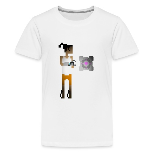 chell 2D - Teenager Premium T-shirt
