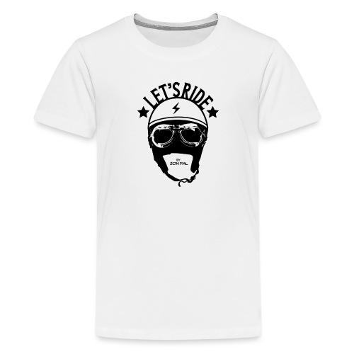 Let's Ride - T-shirt Premium Ado