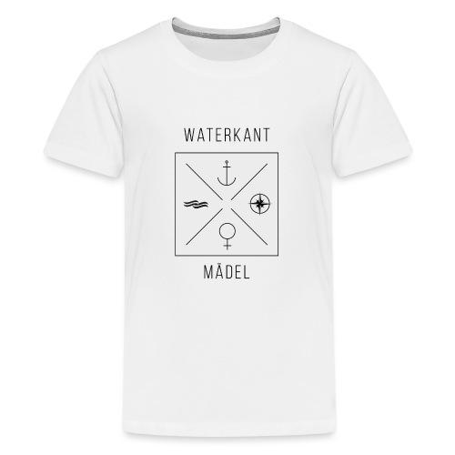 Waterkant Maedel - Teenager Premium T-Shirt