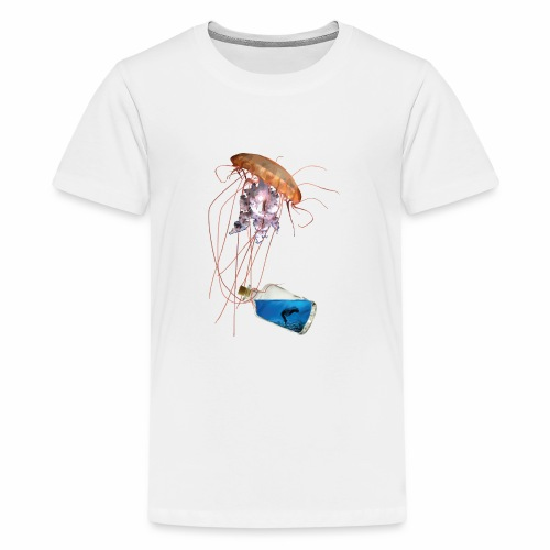 Woman in a bottle - Teenager Premium T-Shirt