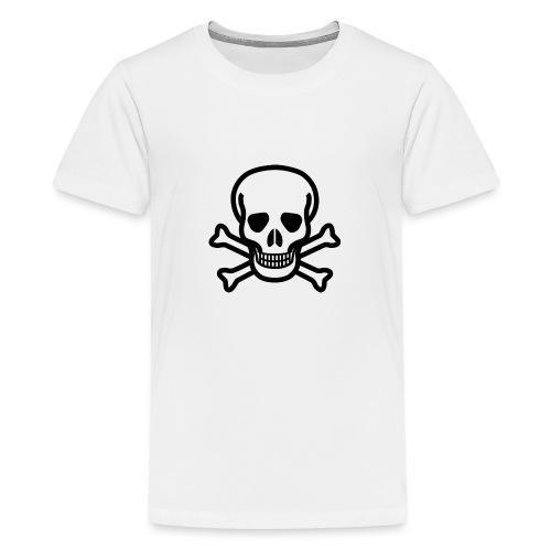 Skull and Bones - Teenager Premium T-Shirt